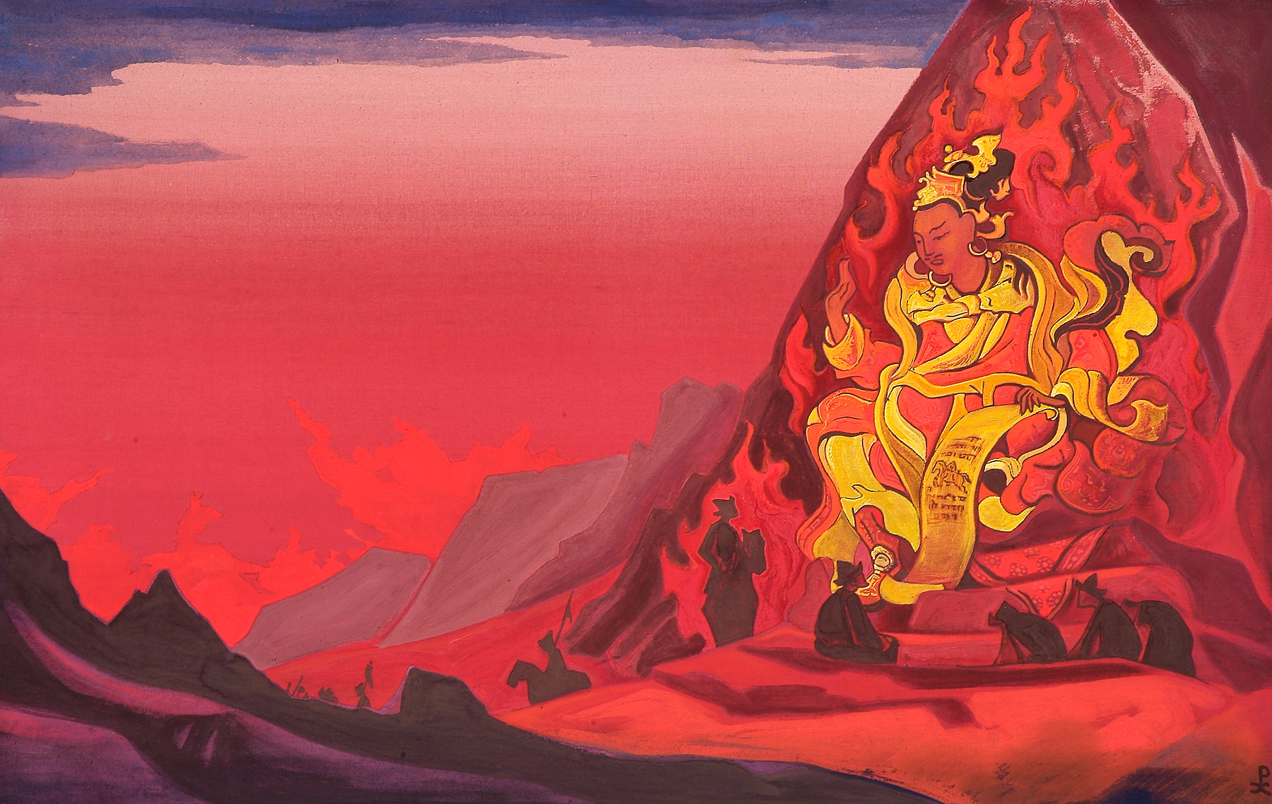 order-of-rigden-jyepo-by-nicholas-roerich
